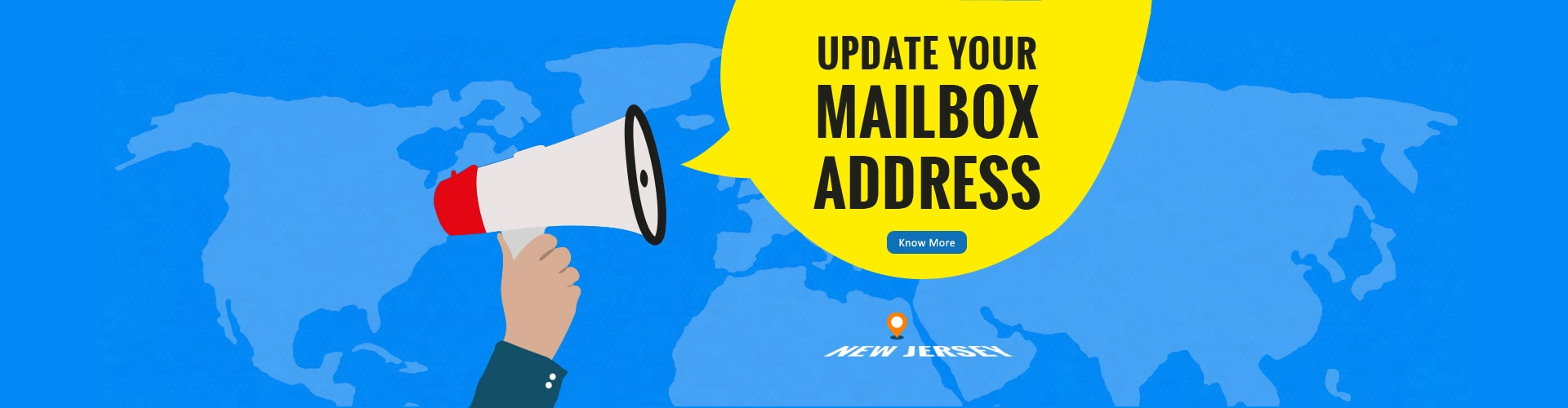 Update your mailbox address